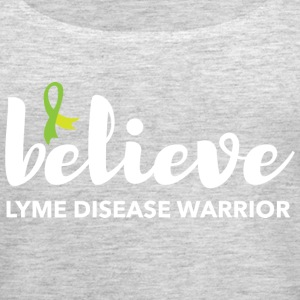 Believe Lyme disease Awareness Tank Top - Women's Premium Tank Top