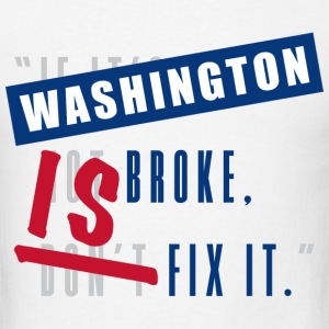 Washington is Broke - Men's T-Shirt