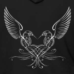 Humming Heart Hoodies - Men's Zip Hoodie