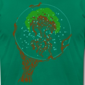 Yggdrasil  - Men's T-Shirt by American Apparel