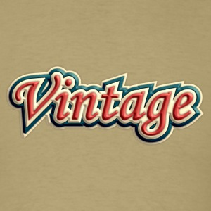 vintage tricolor - Men's T-Shirt
