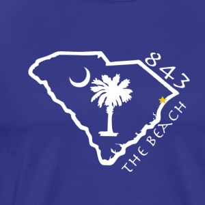 843 The Beach T-Shirt - Men's Premium T-Shirt