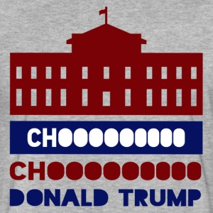 Donald Trump Choo Choo T-Shirts - Fitted Cotton/Poly T-Shirt by Next Level