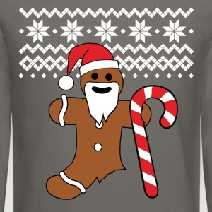 Gingerbread man sweatshirt | Ugly Christmas tee - Crewneck Sweatshirt