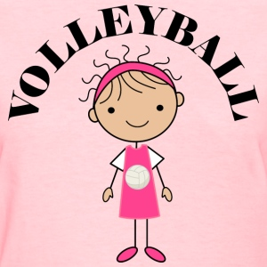 Volleyball Girls Womens T-Shirts - Women's T-Shirt