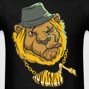 Thug Lion Thug Life Videos T-Shirts - Men's T-Shirt