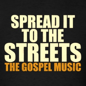 spread gospel - Men's T-Shirt