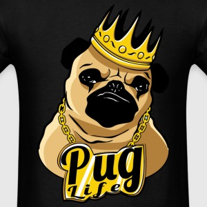Pug Life Thug Life Videos T-Shirts - Men's T-Shirt