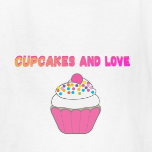 CUPCAKES AND LOVE - Kids' T-Shirt