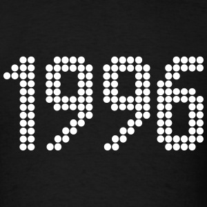 1996, Numbers, Year, Year Of Birth T-Shirts - Men's T-Shirt