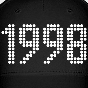 1998, Numbers, Year, Year Of Birth Sportswear - Baseball Cap
