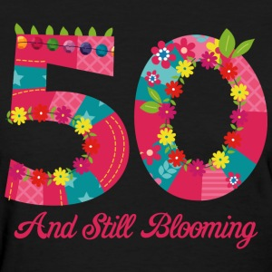 Blooming 50th Birthday T-Shirts - Women's T-Shirt