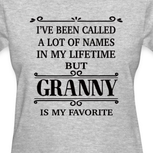 Granny Is My Favorite - Women's T-Shirt