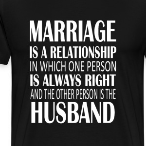 Marriage Is A... - Men's Premium T-Shirt