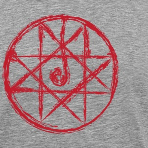 Alchemist - Transumtation Circle - Blood Seal Tee - Men's Premium T-Shirt