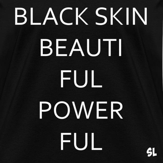 Empowering Black Girls Tees By Lahart Black Skin Beautiful
