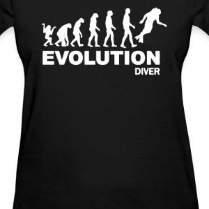 EVOLUTION DIVER - Diving T-Shirts - Women's T-Shirt