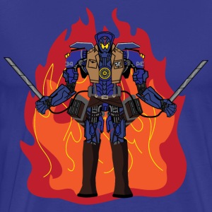 Titan Attack on the Pacific Rim  - Men's Premium T-Shirt