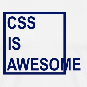 CSS is Awesome - Men's Premium T-Shirt