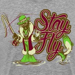 Fly Fishing Pimp - Men's Premium T-Shirt