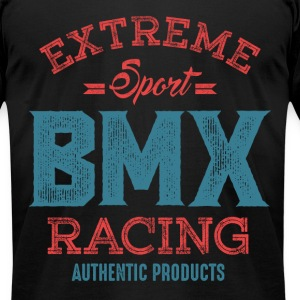 BMX Racing m1c - Men's T-Shirt by American Apparel