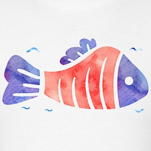 red fish (spread).png T-Shirts - Men's T-Shirt