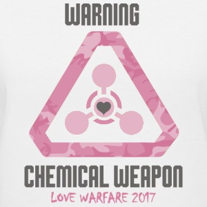 Chemical Weapon of Love Women's Tee - Women's V-Neck T-Shirt