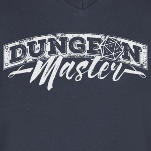 Dungeon Master & Dragons - Men's V-Neck T-Shirt by Canvas