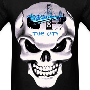 City Skull - Men's T-Shirt
