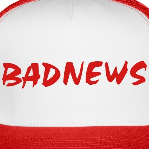 BADNEWS Trucker Hat (Red/White) - Trucker Cap