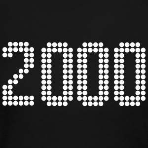 2000, Numbers, Year, Year Of Birth Long Sleeve Shirts - Women's Long Sleeve Jersey T-Shirt