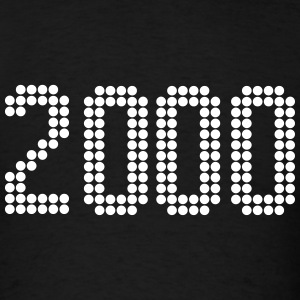 2000, Numbers, Year, Year Of Birth T-Shirts - Men's T-Shirt