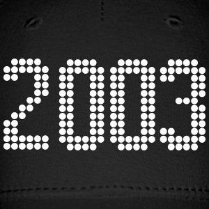 2003, Numbers, Year, Year Of Birth Sportswear - Baseball Cap