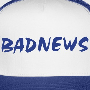 BADNEWS Trucker Hat (Royal Blue) - Trucker Cap