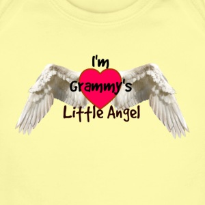 Grammy's Little Angel - Baby Short Sleeve One Piece