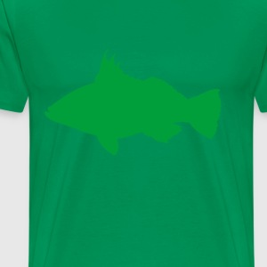 distressed_green_sea_bass - Men's Premium T-Shirt