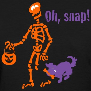 Oh, Snap Skeleton T-Shirts - Women's T-Shirt