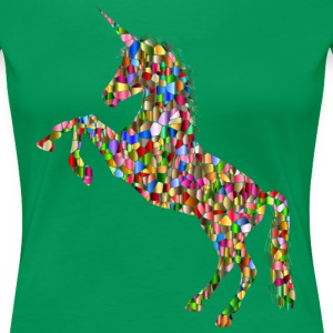 Unicorn of Many Colors - Women's Premium T-Shirt