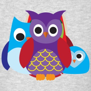 Cute Owls Eyes - Men's T-Shirt