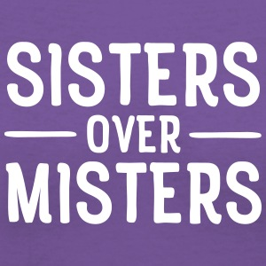 Sisters Over Misters T-Shirts - Women's V-Neck T-Shirt
