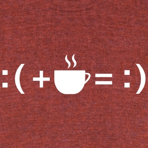 Formula For Happiness (Coffee) T-Shirts - Unisex Tri-Blend T-Shirt by American Apparel