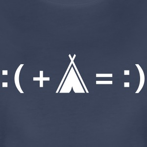 Formula For Happiness (Camping) T-Shirts - Women's Premium T-Shirt
