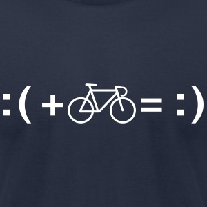 Formula For Happiness (Cycling) T-Shirts - Men's T-Shirt by American Apparel