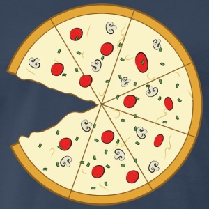 Pizza Couple (Part 2) T-Shirts - Men's Premium T-Shirt