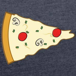 Pizza Couple (Part 1) T-Shirts - Women´s Rolled Sleeve Boxy T-Shirt