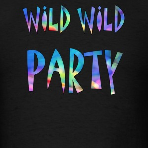 Wild  Party Colorful - Men's T-Shirt