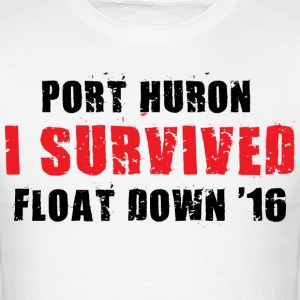 Port Huron Float Down - I Survived - Men's T-Shirt