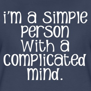 COMPLICATED MIND T-Shirts - Women's Premium T-Shirt