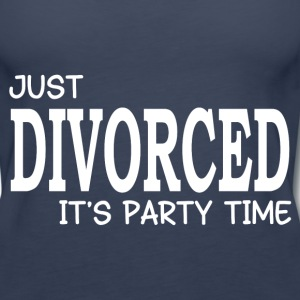 JUST DIVORCED Tanks - Women's Premium Tank Top