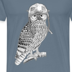 Aviation Owl  - Men's Premium T-Shirt
